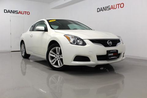 2013 Nissan Altima Coupe 2d Coupe S Front Wheel Drive 2dr Car