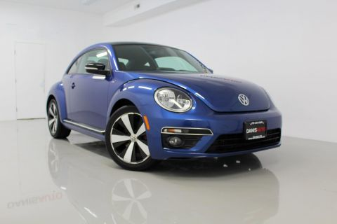 Pre-Owned 2014 Volkswagen Beetle Coupe 2.0T Turbo R-Line