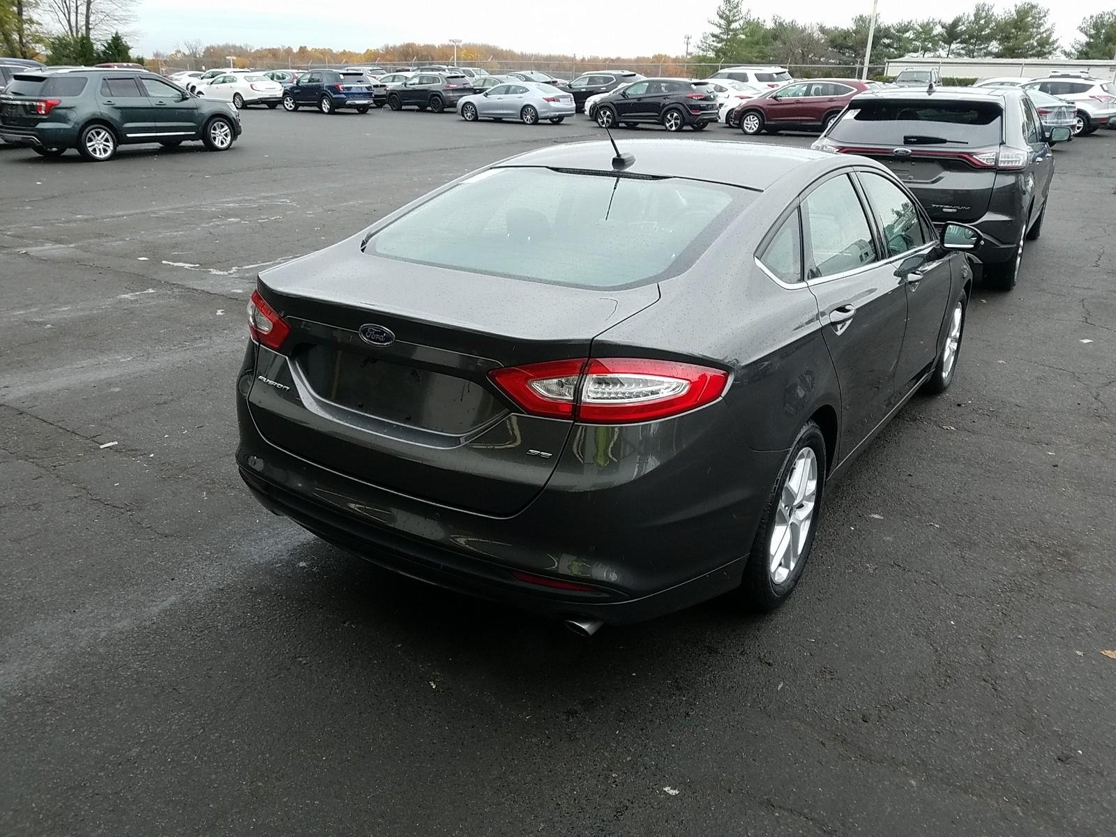 Pre Owned 2016 Ford Fusion SE 4dr Car in Philadelphia 8736