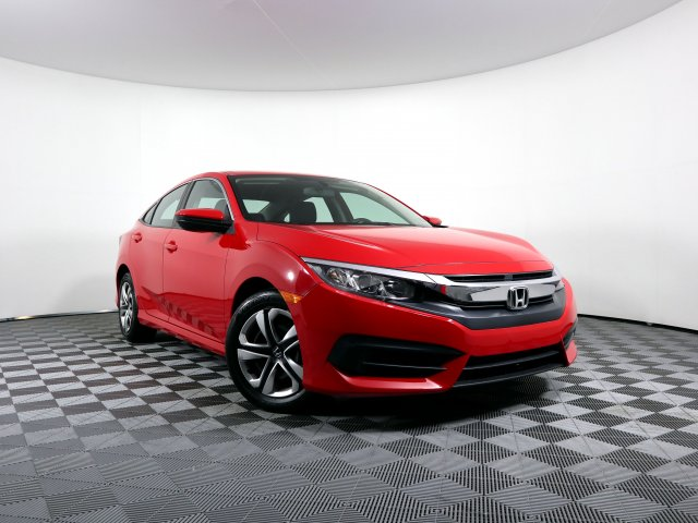 Pre-Owned 2016 Honda Civic Sedan LX