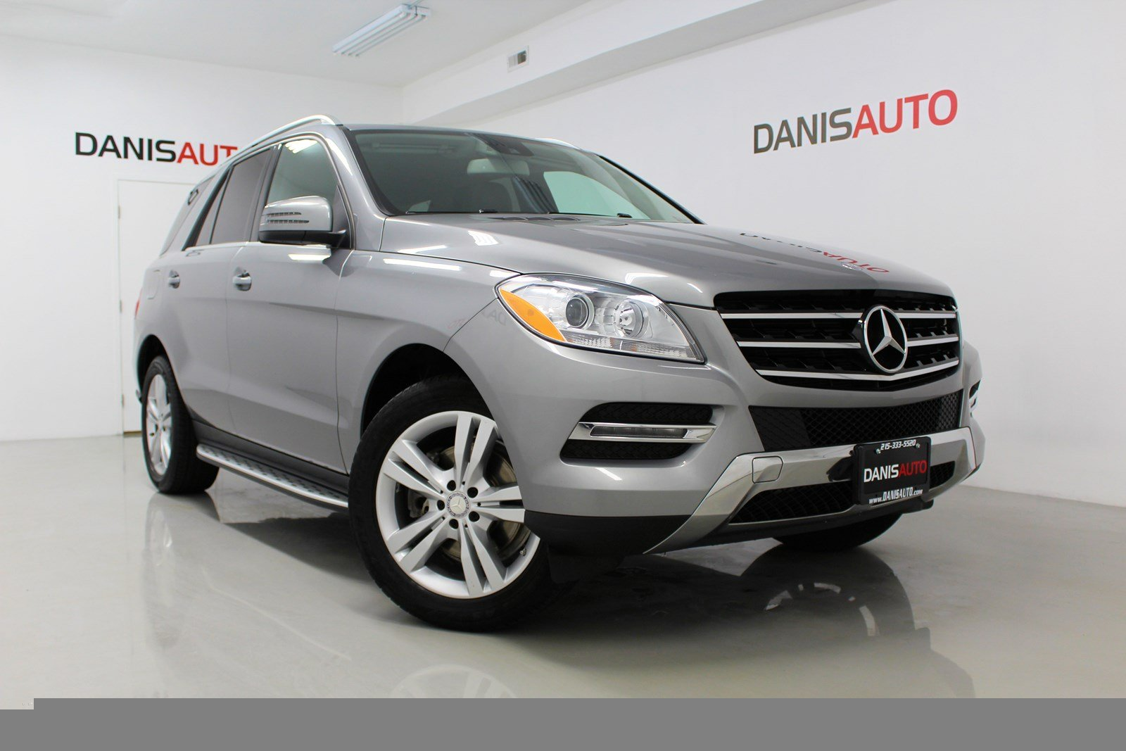 Elegant Pre Owned 2014 Mercedes Benz M Class ML 350